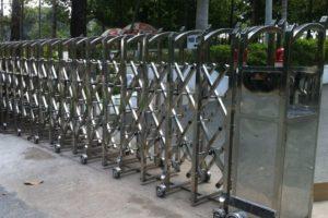 Cổng Xếp Inox MS 10