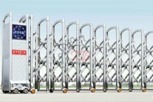 Cổng Xếp Inox Nhập Khẩu QG-J1618