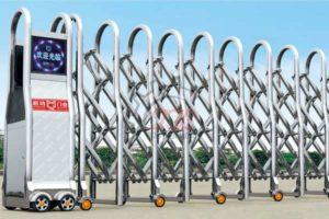 Cổng Xếp Inox Nhập Khẩu QG-J1629