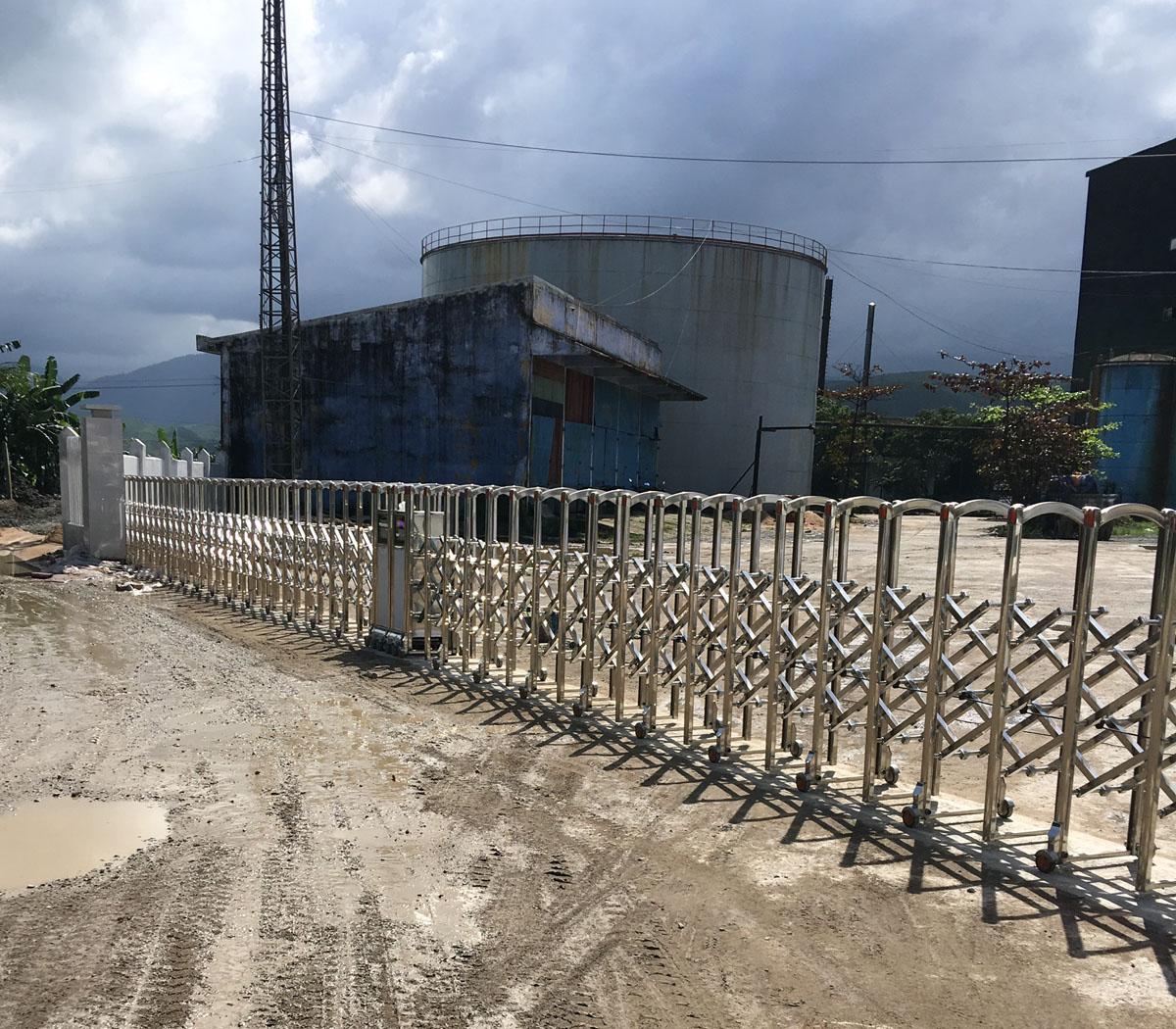 Cổng Xếp Nhà máy đường Tuy Hòa 2