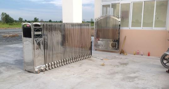 Công trình cổng xếp tại Tiền Giang 2