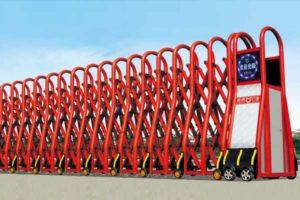 Cổng xếp nhôm nhập khẩu QG-L1635
