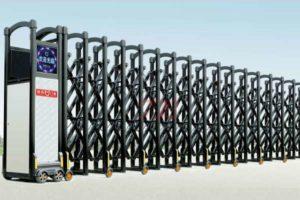 Cổng xếp nhôm nhập khẩu QG-L1638