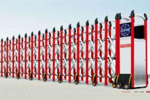 Cổng xếp nhôm nhập khẩu QG-L1640