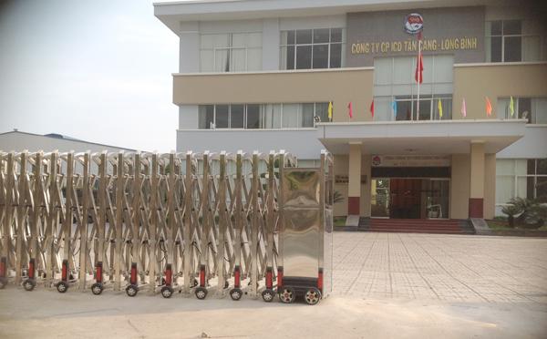 công trình cổng xếp tại Tân Cảng Long Bình Đồng Nai 2