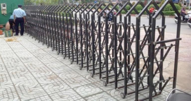 công trình cổng xếp tại Trường Chinh HCM