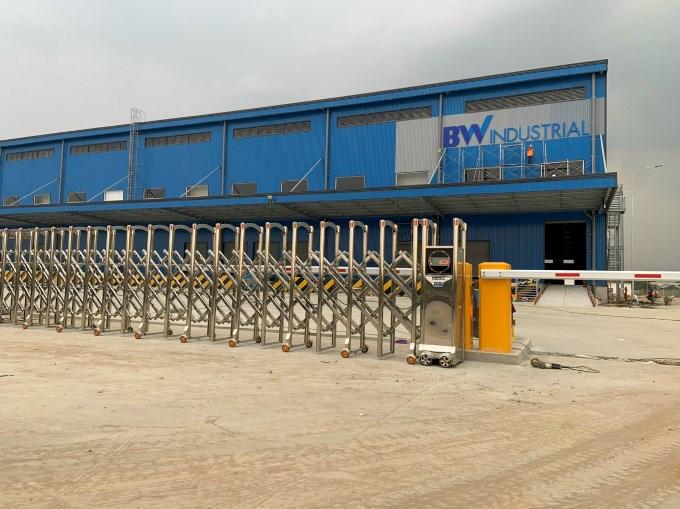 Cổng Xếp Bình Dương - Nhà Xưởng BW Industrial Việt Nam - KCN Bàu Bàng (3)