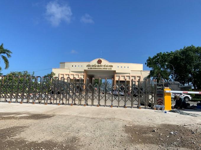 Lắp Đặt Barie Tự Động và Cổng Xếp Inox tại Cửa khẩu Quốc tế Hà Tiên Kiên Giang (7)