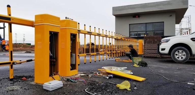 Lắp đặt Barie Hàng Rào Chắn BS-04