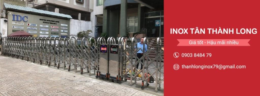 Cổng Xếp An Giang - Cổng Xếp Inox TÂN THÀNH LONG