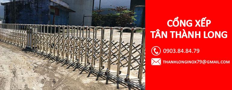 cổng xếp bạc liêu